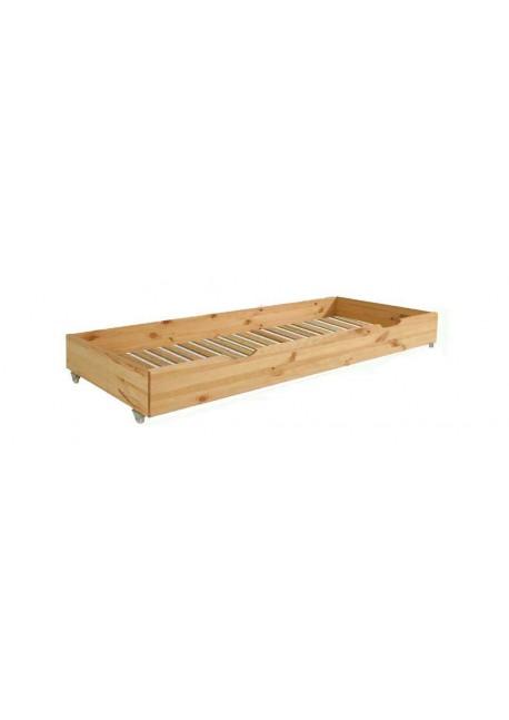 Bettrollkasten Duo2, Holz massiv, 2. Liegefläche - Gästebett