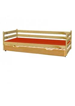 """Sofabett """"Primus 4"""" Bettrollkasten mit Rost, Holz Naturholzmöbel direkt vom Kinderbetten Hersteller"""