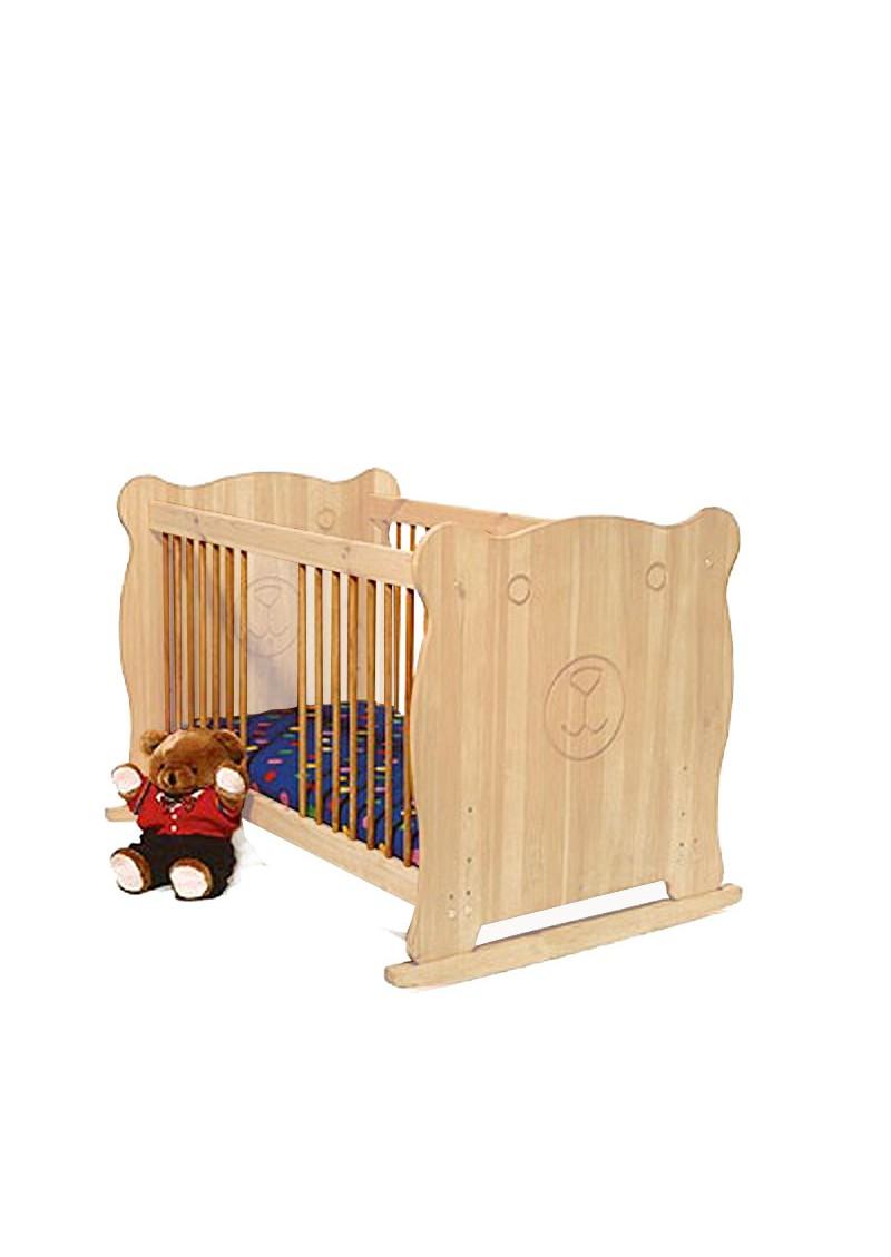 baby bett b r kinderbett aus massivholz ge lt und gewachst silenta produktions gmbh. Black Bedroom Furniture Sets. Home Design Ideas