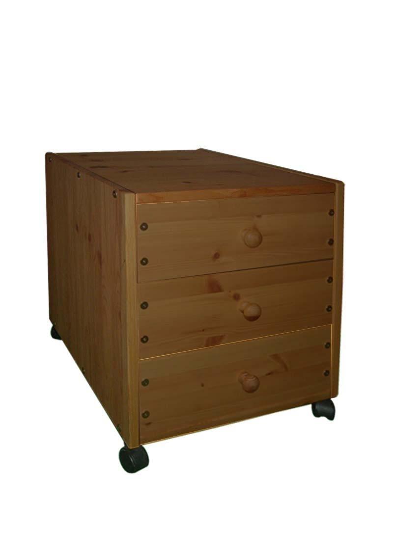 rollcontainer mit 3 schubladen direkt vom hersteller silenta produktions gmbh. Black Bedroom Furniture Sets. Home Design Ideas