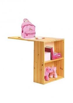 Schreibtisch ausziehbar mit Regal