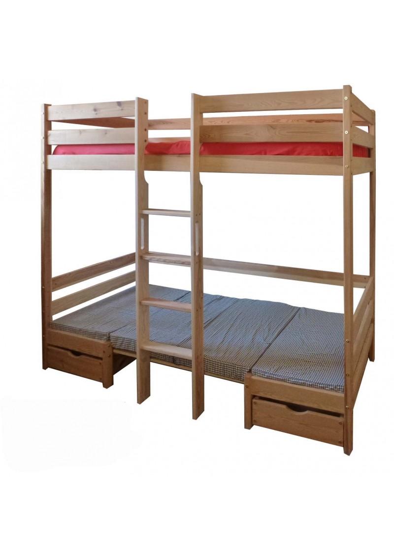 hochbett kronach aus holz mit bank und tisch. Black Bedroom Furniture Sets. Home Design Ideas