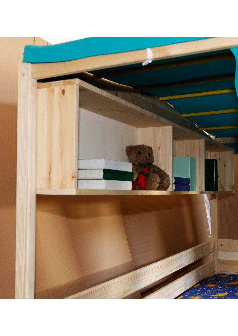kinderbett coburg baumhausbett mit schreibtisch silenta produktions gmbh. Black Bedroom Furniture Sets. Home Design Ideas