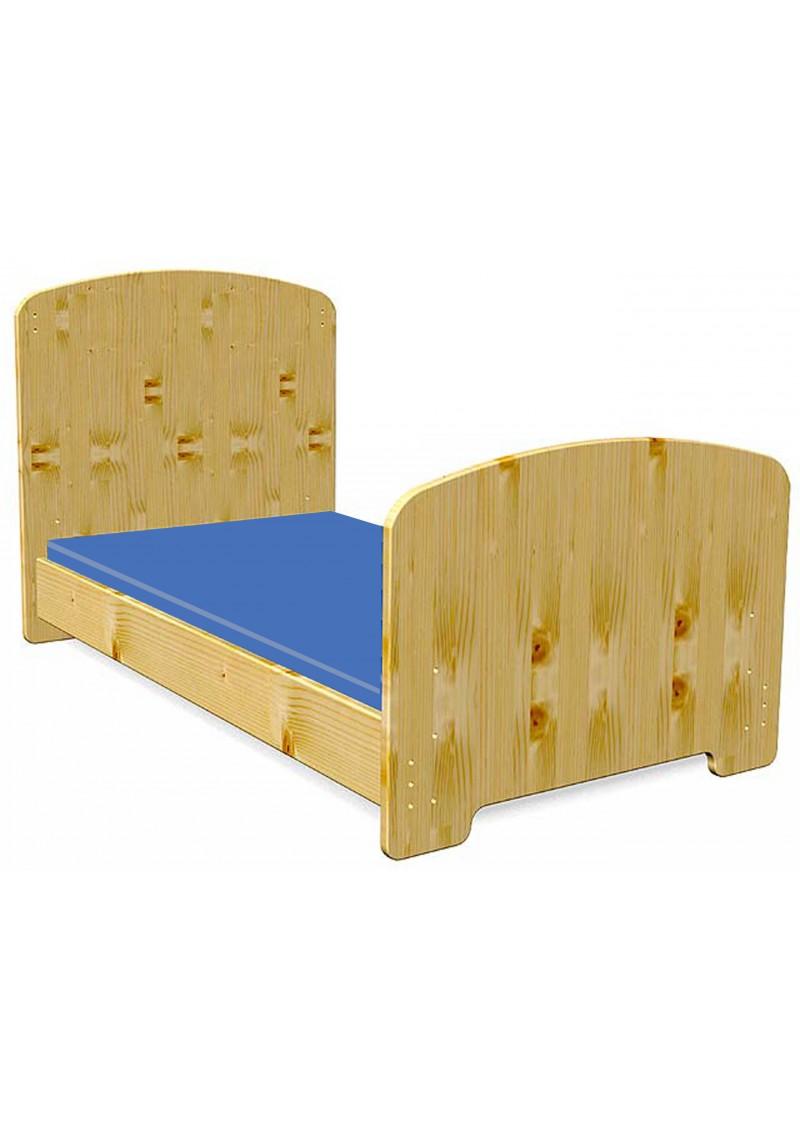 babybett junior kinderbett 70x140 cm massivholz ohne schadstoffe vom deutschen hersteller. Black Bedroom Furniture Sets. Home Design Ideas