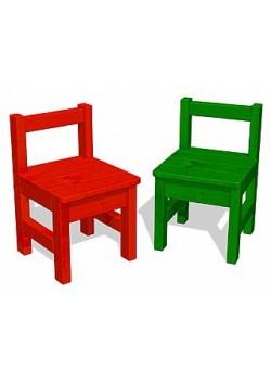 Kinder Stuhl mit Lehne, Holz massiv, ohne Schadstoffe, direkt vom Hersteller