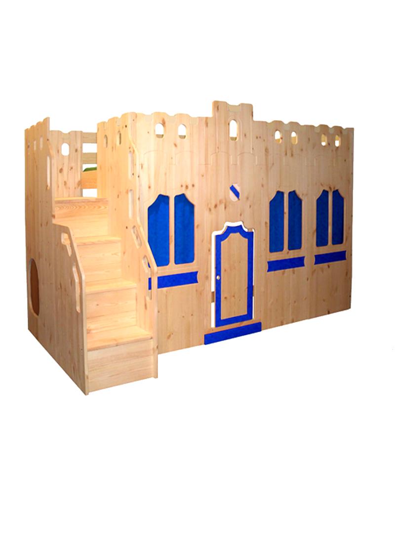 burgfassade traumburg hochbett direkt vom deutschen. Black Bedroom Furniture Sets. Home Design Ideas