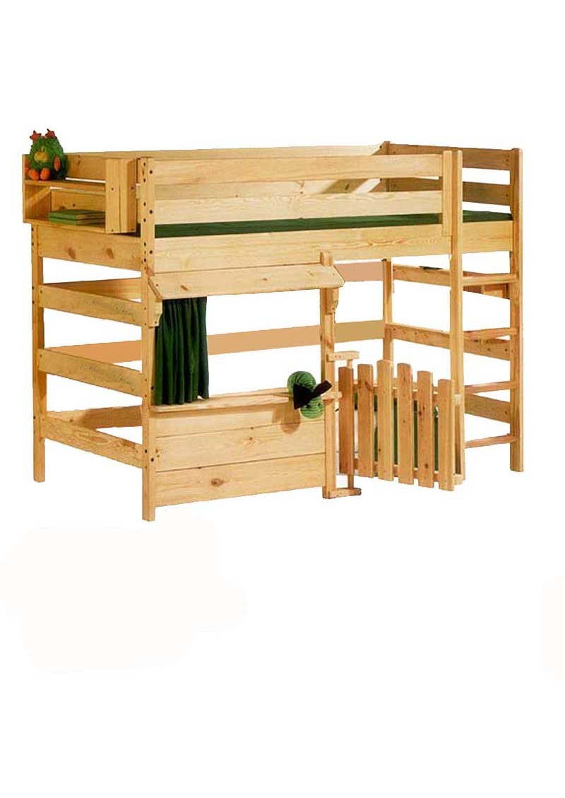 kinder hochbett primus 4 spielbett holz massiv rollrost kinderm bel silenta produktions gmbh. Black Bedroom Furniture Sets. Home Design Ideas