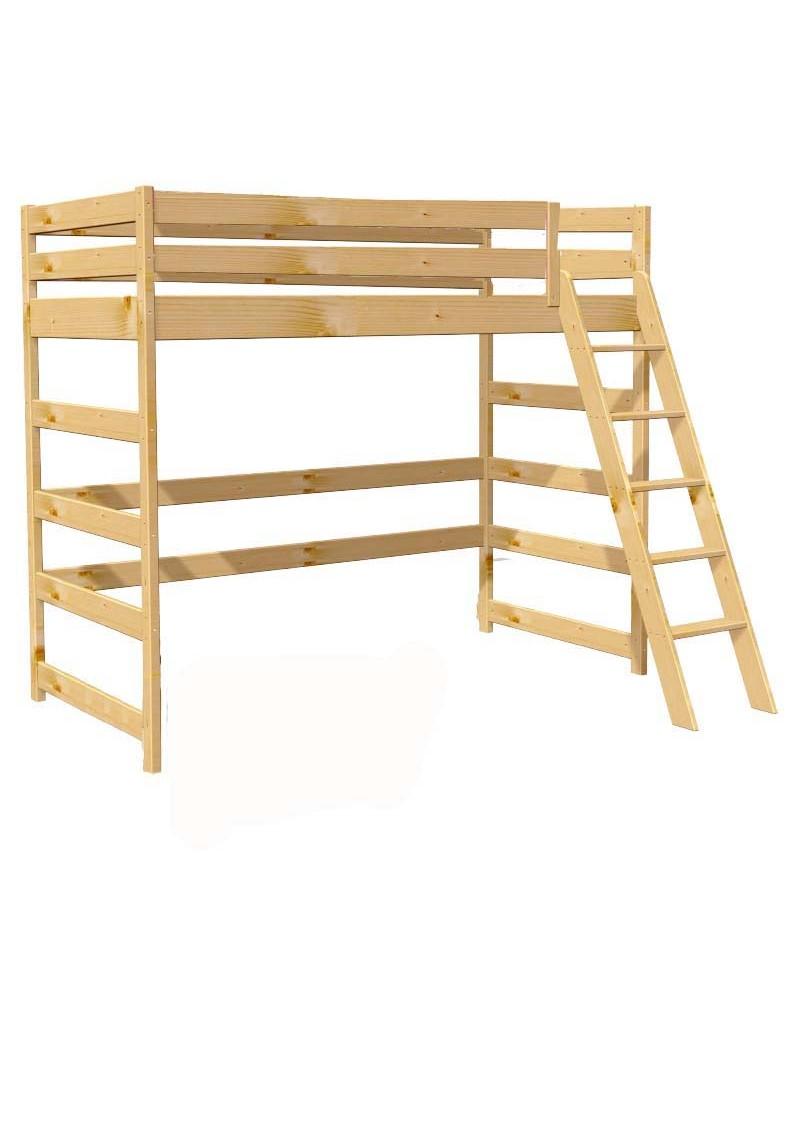 kinder hochbett primus 2 holz aus nachhaltiger waldwirtschaft silenta produktions gmbh. Black Bedroom Furniture Sets. Home Design Ideas