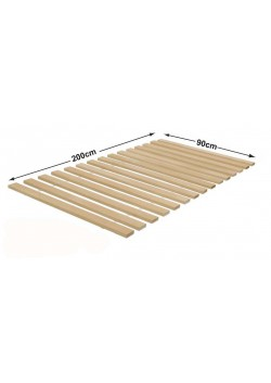 Rollrost  90 X 200 cm,  aus Massivholz