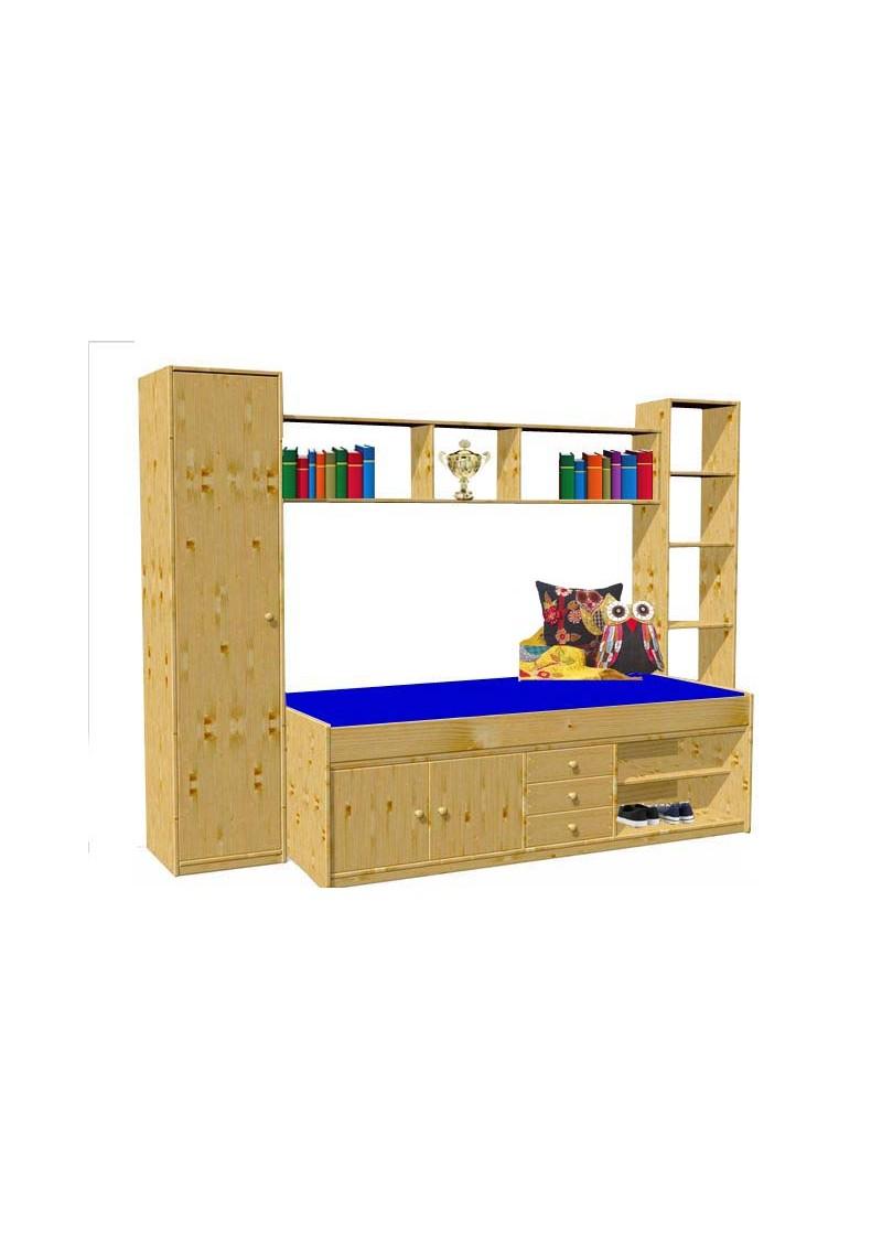 jugendbett arkona bio kinderm bel holz massiv direkt vom deutschen hersteller silenta. Black Bedroom Furniture Sets. Home Design Ideas