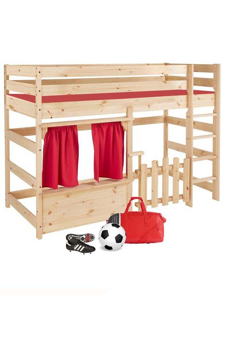 kinder hochbett primus 4 spielbett holz massiv rollrost kinderm bel silenta produktions gmbh. Black Bedroom Furniture Sets. Home Design Ideas