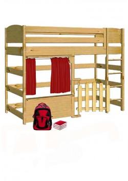 """Spielbett """"Basis"""" Kinder Hochbett Massivholz, direkt vom deutschen Hersteller"""