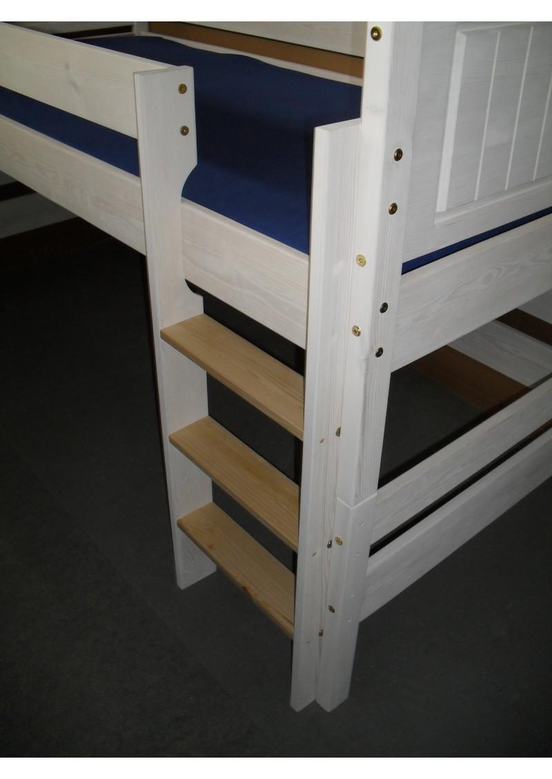 kinder hochbett bayreuth halbhochbett umbaubar zu 2 einzelbetten rost holz massiv. Black Bedroom Furniture Sets. Home Design Ideas
