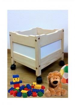 """Spielzeugkiste """"mini"""" Spielzeugwagen mit Rollen, aus Holz , ohne Schadstoffe, online direkt vom deutschen Hersteller kaufen"""