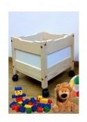 """Spielzeugkiste """"mini"""" mit Rollen, aus Holz ,  ohne Schadstoffe, online direkt vom deutschen Hersteller kaufen"""