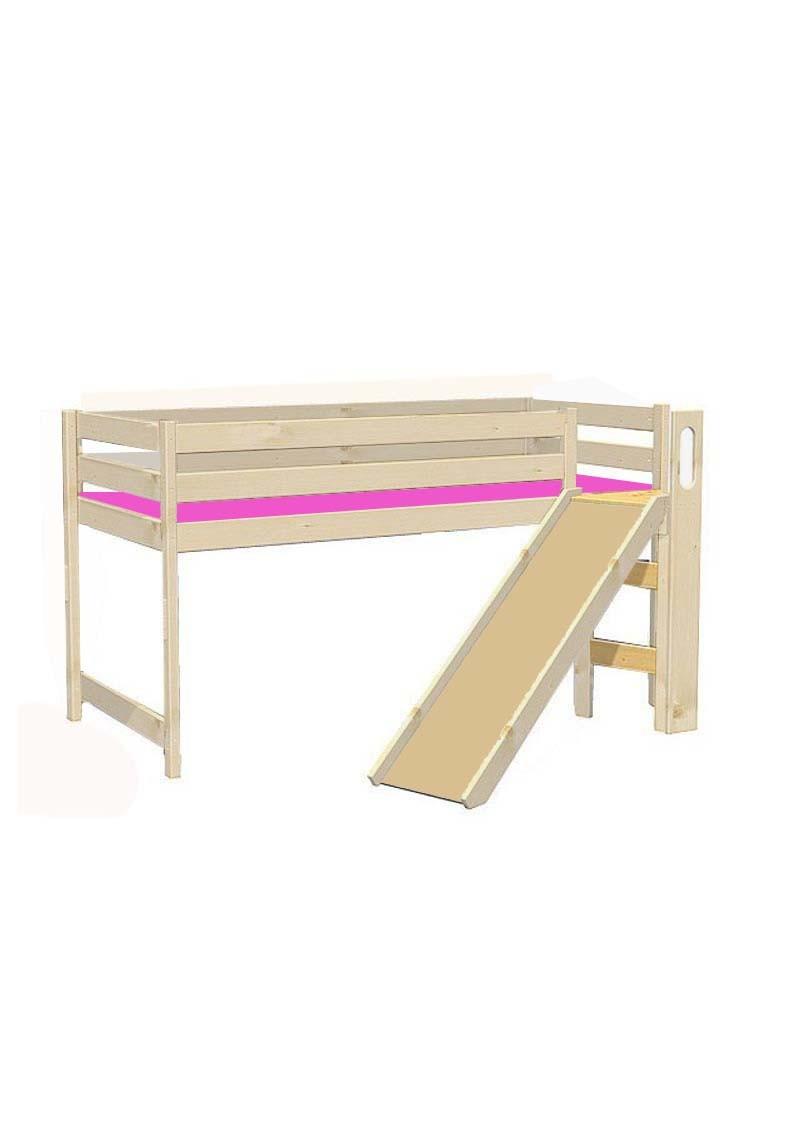 hochbett f r kinder mit rutsche bamberg rollrost. Black Bedroom Furniture Sets. Home Design Ideas