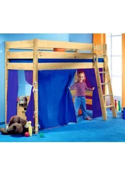 Vorhang Set für Hochbett/Etagenbett  Bettgardine 5-teilig