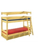 "Hochbett/Etagenbett ""Vario"" umbaubar Holz FSC® deutscher Hersteller"