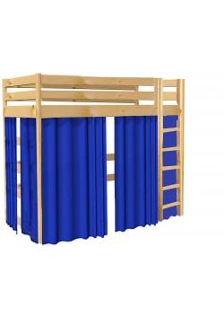 Vorhang Set zu Hochbett  175cm  Bettgardine 5-teilig