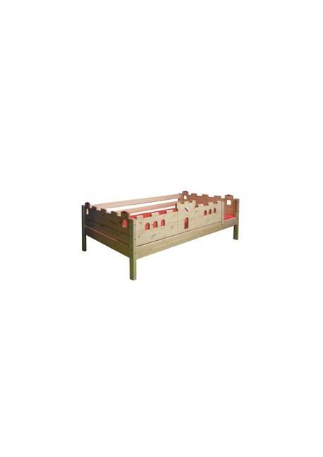 Kinderbett Burgenbett mit Rost, direkt vom Hersteller