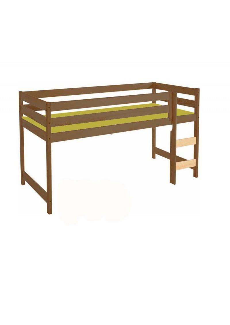 kinder hochbett bamberg 90x200 cm holz massiv. Black Bedroom Furniture Sets. Home Design Ideas