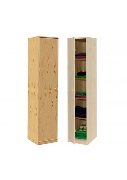 """Kinderschrank """"mono 1"""" Wäscheschrank, Holz massiv  FSC® ohne Schadstoffe 171x46,5 cm direkt vom Hersteller"""
