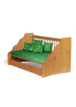 """Babybett """"Welle"""" 70x140 cm, Naturholz unbehandelt oder geölt, ohne Schadstoffe, vom deutschen Hersteller online bestellen"""