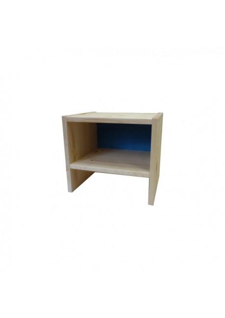 Beistelltischen, Beistellhocker, Nachttischchen Kiefer-Massivholz mit Bio-Oberfläche