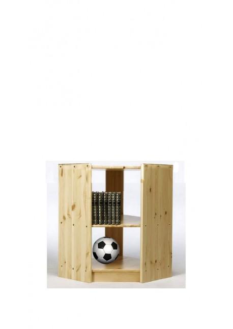 Innenbogen-Regal Eckregal Massivholz in 4 Höhen direkt vom Hersteller