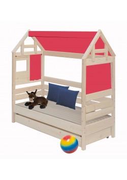 Spielhaus -  Aufsatz für Betten 70x160 oder nur Spielhaus