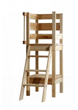 Sicherheitstreppe mit Podest 140 cm,