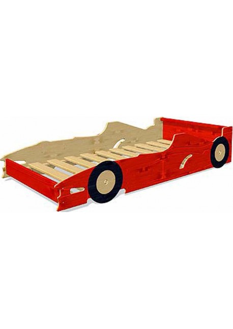 Kinderbett Autobett mit Rost, direkt vom Hersteller