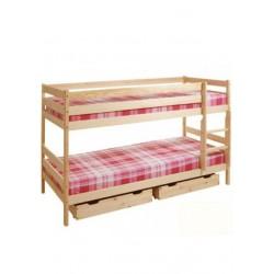 Kinder Etagenbett Holz...