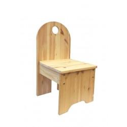 Kinderstuhl, Holz massiv,...