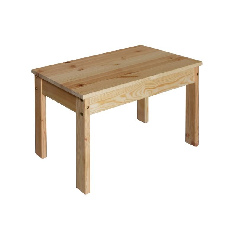 tisch aus holz fuer kinder beistelltisch hoehe oder  cm