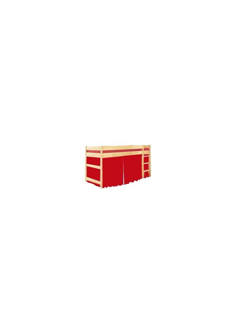 kinderbett zelt vorhang set zu kinder hochbett und etagebett silenta produktions gmbh. Black Bedroom Furniture Sets. Home Design Ideas