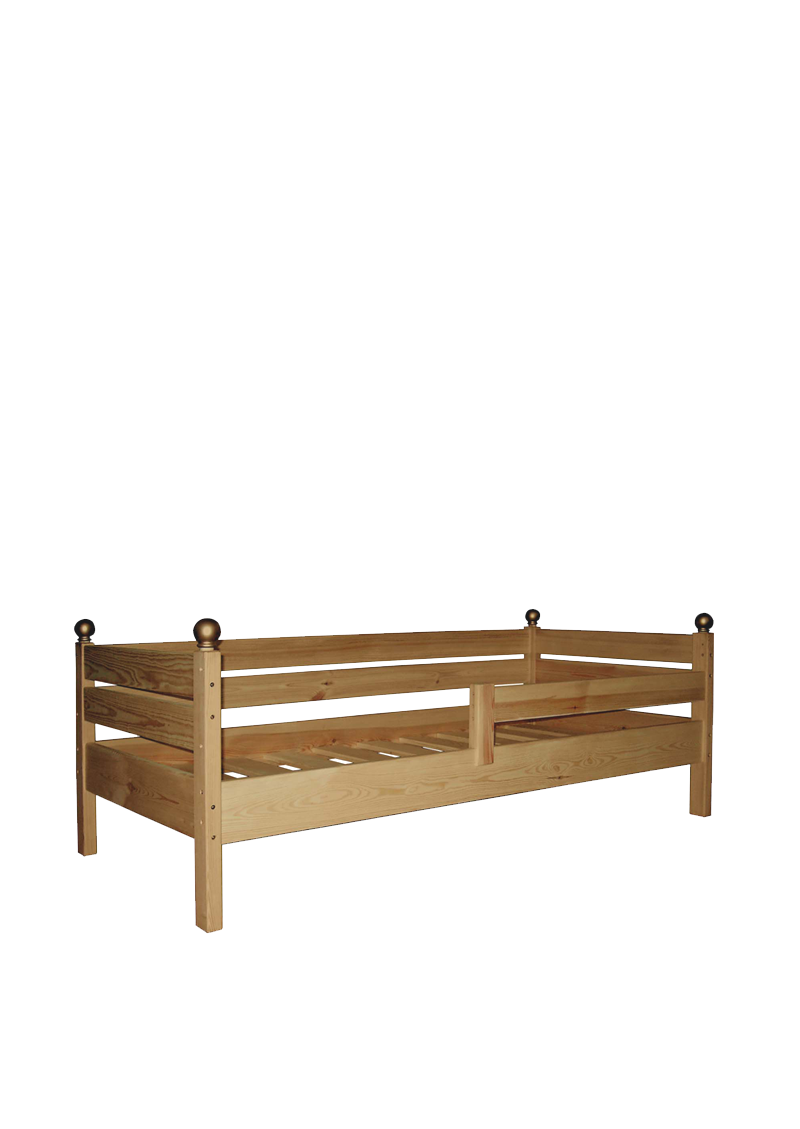 kinderbett comtesse 70x160 cm prinzessinnenbett holz. Black Bedroom Furniture Sets. Home Design Ideas