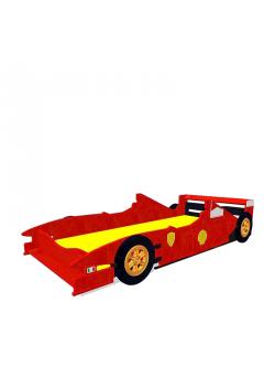 """Kinderbett """"Formel 1"""" mit Rost"""