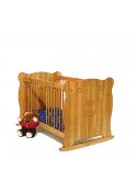 """Babybett """"Bärchen"""" Kinderbett Holz massiv  70x140 cm, ohne Schadstoffe, direkt vom Hersteller online bestellen"""