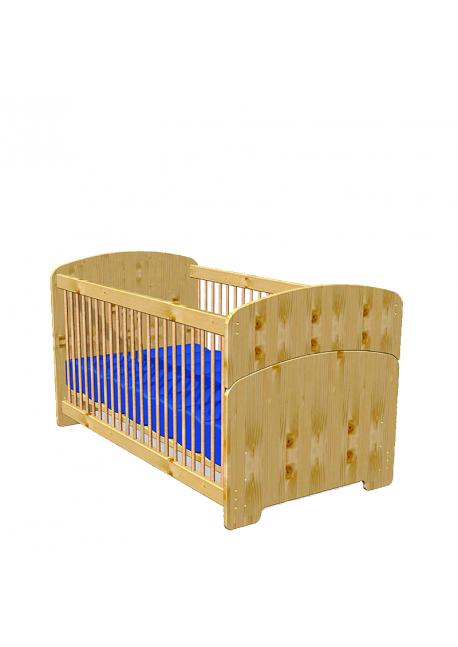 babybett kinderbett junior 70 x 140 massivholz bio. Black Bedroom Furniture Sets. Home Design Ideas