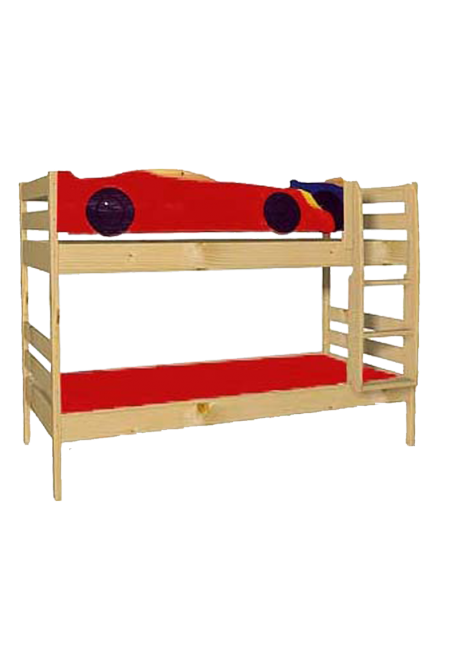 Etagenbett mit 2 Rollrosten, direkt vom Hersteller