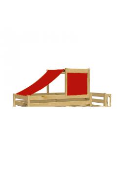 Stoffdach, Sonnensegel für Kinderbett Hochbett