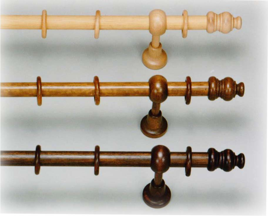 Stilgarnitur Massivholz mit Ringen